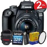 Canon EOS 4000d 18-55mm IS II Wi-Fi® DSLR Fotoğraf Makinesi