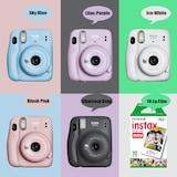 Fujifilm İnstax Mini 11 Fotoğraf Makinesi+Askı+pil+10'lu Film