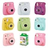Fujifilm İnstax Mini 9 Fotoğraf Makinesi+Askı+pil+20'li Film
