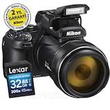Nikon Coolpix P1000 16MP 125x Zoom 4K Wi-Fi® Fotoğraf Makinesi