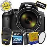 Nikon P900 83X Zoom GPS Wi-Fi® Fotoğraf Makinesi