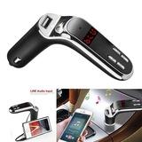 Yeni Sürüm Bluetooth 4.2 Araç Kiti Car G7 FM Transmitter Oto Araç