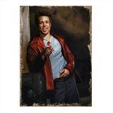 Brad Pitt Model Mdf tablo