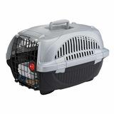 Ferplast Atlas Deluxe 10 Kedi ve Köpek Taşıma Çantası Siyah-Gri