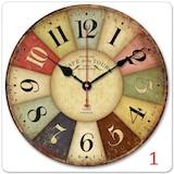Clock Mango Retro Classic Duvar Saati 50 cm.