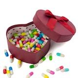 Sevgiliye Hediye 100'lü Mini Dilek Kapsülleri Tasarım Kutulu