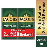 Jacobs Monarch Filtre Kahve 2 x 500 G