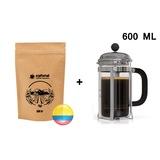 Kolombiya Yöresel Filtre Kahve 250 gr + French Press 600 ML