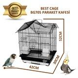 Best Cage Ufak Irk Papağan Kafesi 42X30X52cm