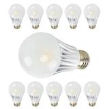10 Adet 7 Watt Duylu Led Ampul Beyaz ışık Enerji Tasarruflu Lamba