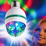 Enerji Tasarruflu Led Ampul Lamba Renkli Döner Disko Ampülü Gece