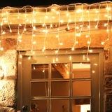 Dekoratif Saçak Led Işık İp Perde Sarkıt Yılbaşı Süs led