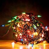 Yılbaşı Ağacı Işığı Süs LED Işık Renkli 5m 50 Led 8 fonksiyon
