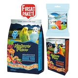 Muhabbet Kuşu Bağışıklık Destek Paketi -1 kg Muhebbet Yemi +50 gr