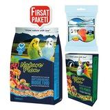 Muhabbet Kuşu Tüy Sağlığı Paketi -1 kg Muhebbet Yemi +50 gr VitaP