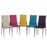 6 Adet Gözde Metal Mutfak Sandalyesi Balkon Teras Sandalye Restor