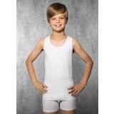 6'lı - 12'li Tutku Erkek Çocuk Klasik Penye Atlet Beyaz