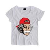 Albert Einstein Baskılı Dar Kesim Beyaz Body KB042