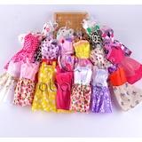 Harika Barbie Oyuncak Bebek Kıyafetleri 10 ADET