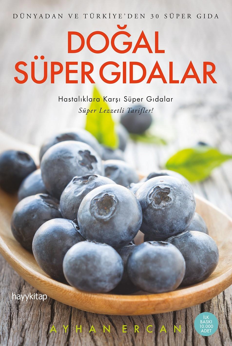 Doğal Süper Gıdalar  Ayhan Ercan HAYY KİTAP