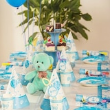 Baby Shower Boy Basic Parti Seti (16 Kişilik)
