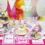 Baby Shower Girl Basic Parti Seti (16 Kişilik)