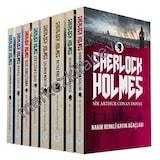 Sherlock Holmes 8 Kitap Seti Sir Arthur Canan Doyle