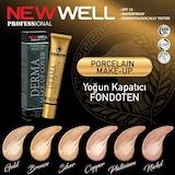 New Well Derma Make-Up Cover Fondöten 6 Ton Seçeneği