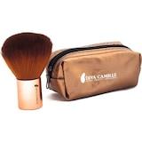 Diva Camille DCM-3193 Make-Up Çantalı Kısa Bronz Allık Fırçası
