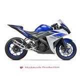 Modatools Yamaha  Logolu Motosiklet Sticker Çıkartma Aksesuarı