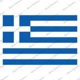 Yunanistan Yunan Bayrağı Sticker 00707