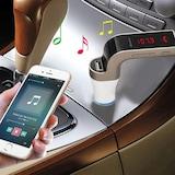 Bluetooth Araç Kiti Car G7 Fm Transmitter Usb Girişli