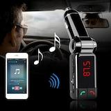 Bluetooth Araç Kiti FM Transmitter AUX MP3 Çift Usb PL-9240