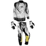 MX-40 Jersey Kross Kıyafeti + Eldiven Üçlü Set