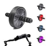 AB WHEEL Fitness Karın Kası Sixpack Egzersiz Tekeri Spor Aleti