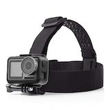 GoPro Aksiyon Kamera Uyumlu Kaydırmaz Silikon Kafa Baş Bandı GP24