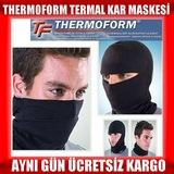 Termal Kar Maskesi Balaklava Bere Boyunluk Baf Motosiklet Maske K