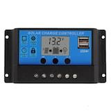 Güneş Paneli Akü Şarj Kontrol Cihazı 10 Amper 12 ve 24 Volt