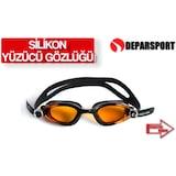 Yüzücü Gözlüğü Silikon Havuz Gözlüğü Deniz Gözlüğü Antifog gs1