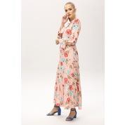 3076591c92a1d Çiçek Desenli Uzun Elbiseler - n11.com