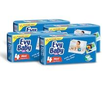 Evy Baby Bebek Bezi Kremli Jumbo Paket 45 Adet Maxi 4'lü SET