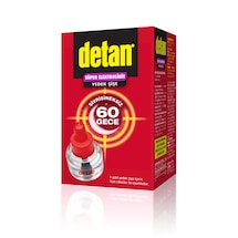 DETAN Süper Elektrolikit Cihaz + Yedek / Sivrisineksiz 60 Gece