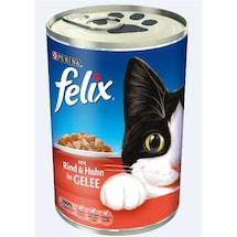Felix Yetişkin Kediler - Sığır Etli Tam Yaş Kedi Maması 400gr