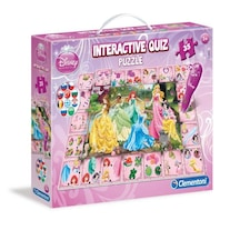 Clementoni Interactive Quiz Puzzle Yarışması Princess (3YAŞ+)