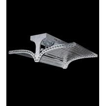 işıksaçan modern metal plafonyer avize
