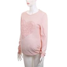 18ed3e3130690 Gebe Marka Hamile Giyim Sweater Tracy Pembe Triko Bluz