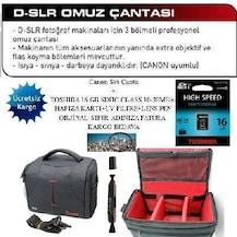 Canon Eos 600d 18 55 Full Aksesuar Seti Faturalı ücretsiz Kargo