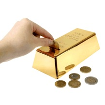 altın külçe kumbara
