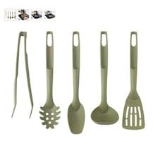 speciell mutfak gereçleri seti, koyu yeşil