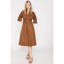 64d78e03c8a63 Bayan Kahve 2019 Elbise Modelleri & Fiyatları - n11.com